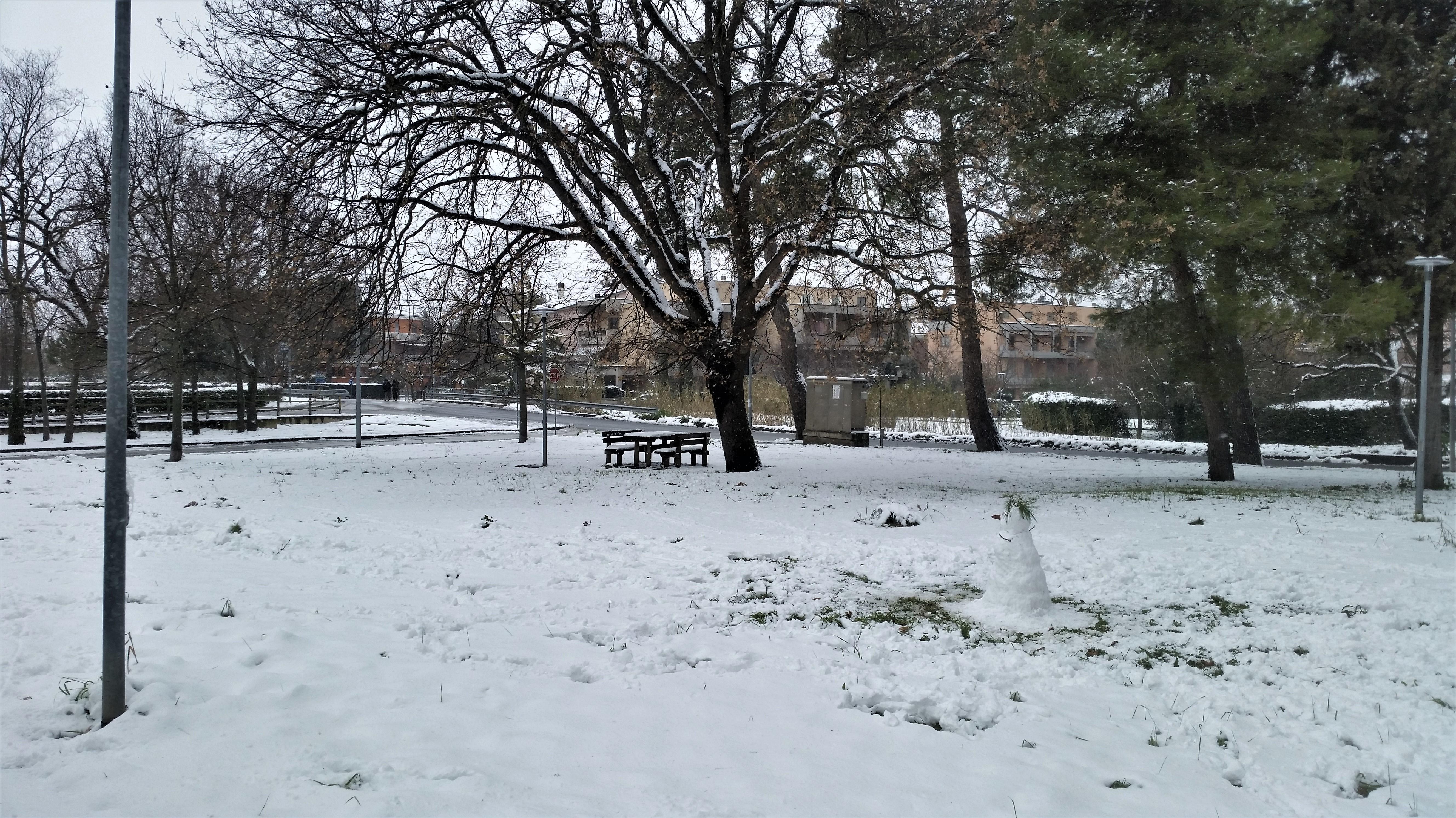 Senigallia con la neve...