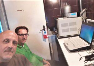 Gian Franco e Luca soddisfatti del lavoro.